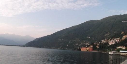 Casinhas próximas ao Lago di Como