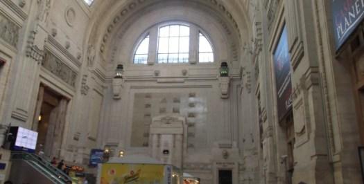 Estação de Milano Centrale - Foto por: Gisele Almeida