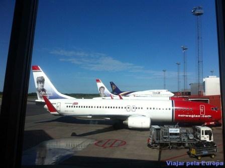 Norwegian - Aeroporto Arlanda - Estocolmo