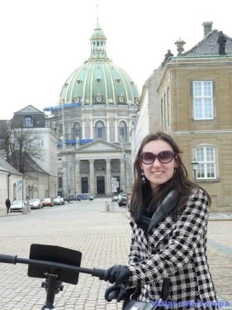 De Bicicleta em Copenhague.