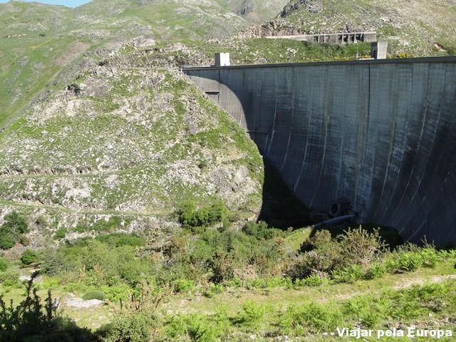 Barragem vista de cima :)