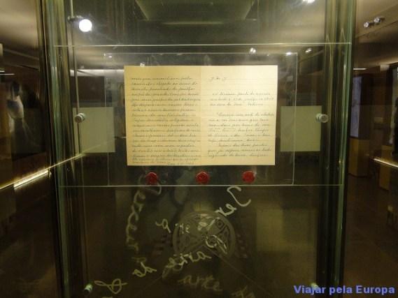 Manuscrito do 3ª segredo de Fátima.