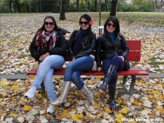 Outono no Palácio de Cristal.