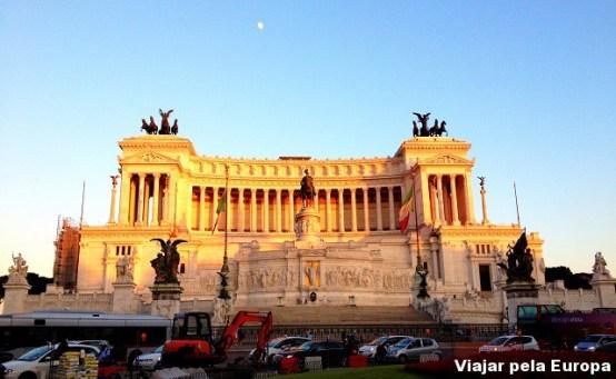 Piazza Venezia, Roma.