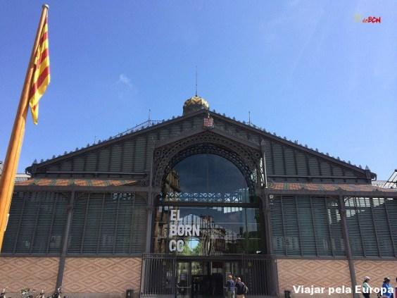 Mercat del Born, Barcelona.