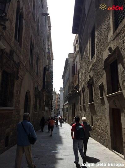 Bairro Gótico, Barcelona.