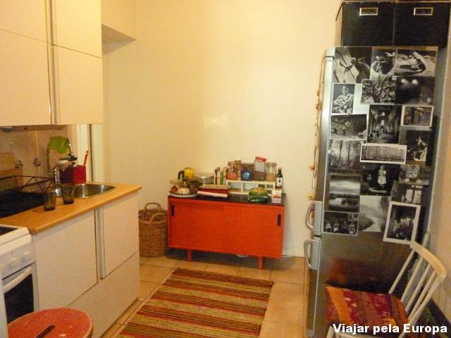 Apartamente em Helsinque, alugado através do site airbnb.