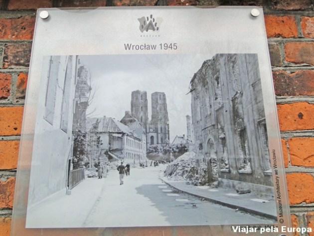 Como ficou a catedral após a II Guerra Mundial