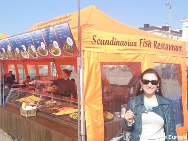 Mercado dos Peixes, Helsinque.