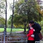 Eu e Daniel no E. Garden