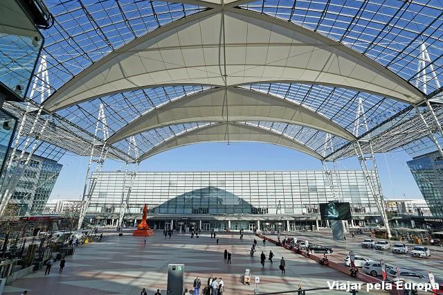 Munich Airport Center.