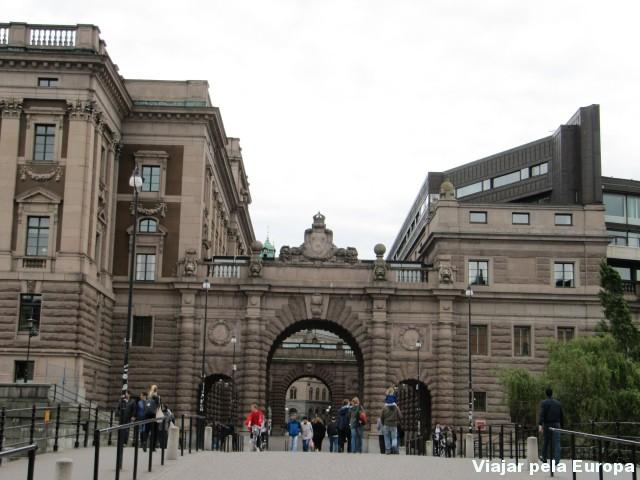Guia brasileira em Estocolmo