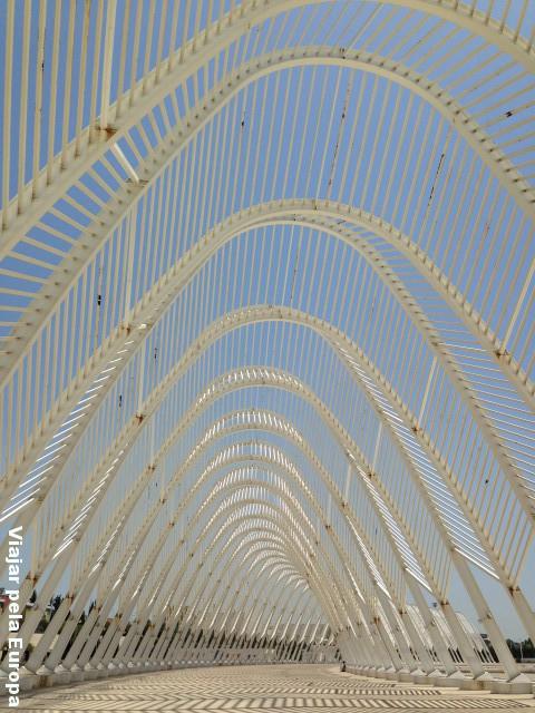Arcos do Estádio Olímpico de Atenas.
