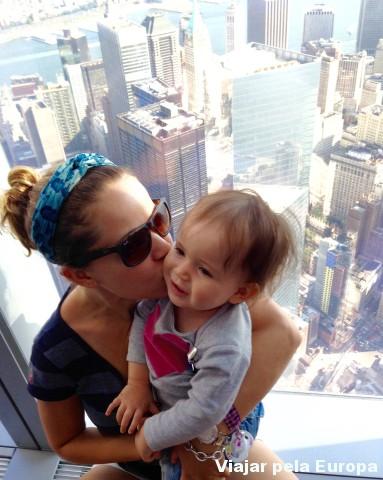 A Nicole também amou conhecer Nova York!