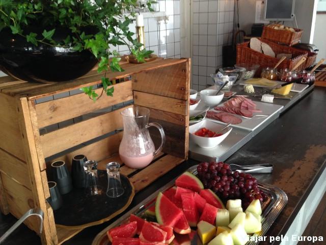 Amamos o café da manhã do Hotel Huskvarna. Vários produtos ecológicos! #yummy