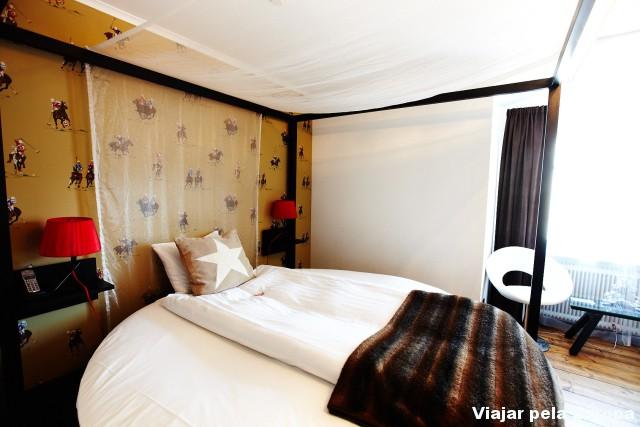 Amei essa cama redonda!