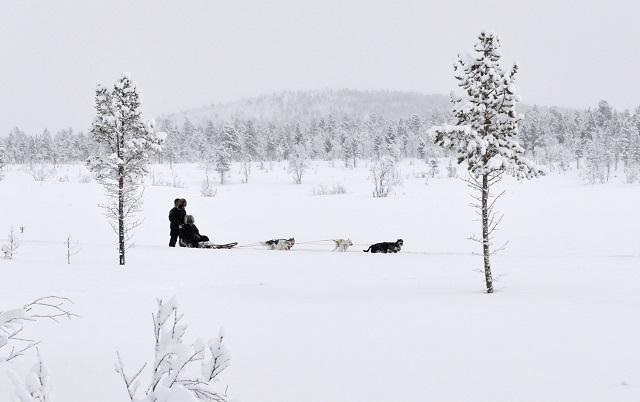 Inverno em Kiruna. Foto - Divulgação - editada