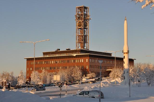 Prefeitura de Kiruna. Foto - Divulgação