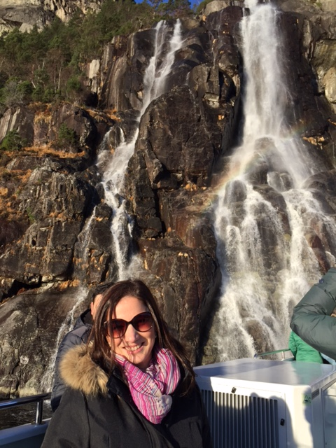 Lidiane Cachoeira Noruega Norway