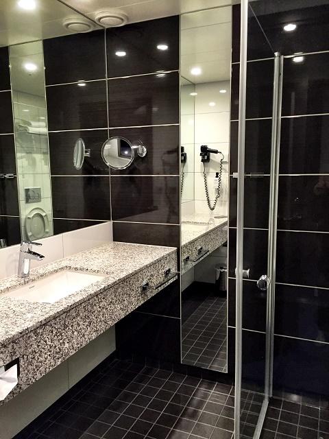 Banheiro Hotel Scandic Havet Bodo