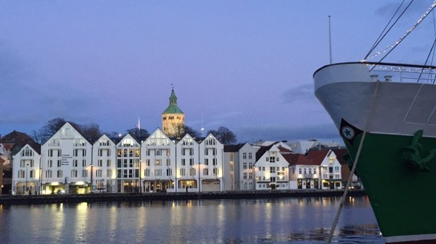 Porto de Stavanger - Noruega