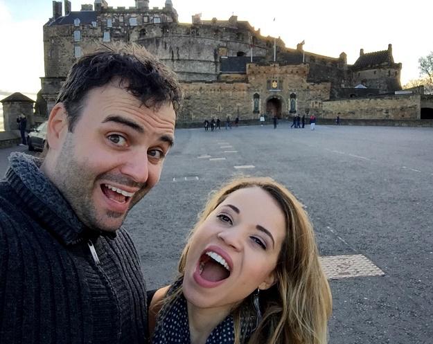 Edimburgo - Escócia Gi Daniel