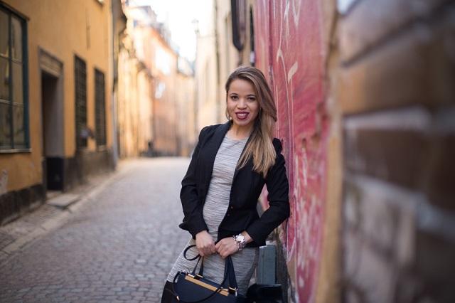 Look do dia - ruas de Gamla Stan Estocolmo
