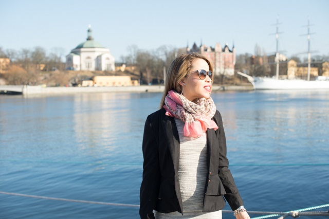 look do dia - Gisele em Gamla Stan - Stockholm