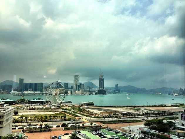 View - Hotel Mandarin Oriental Hong Kong