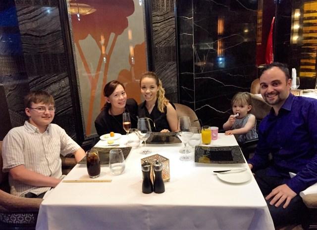 Jantar Mandarin Oriental - Macau