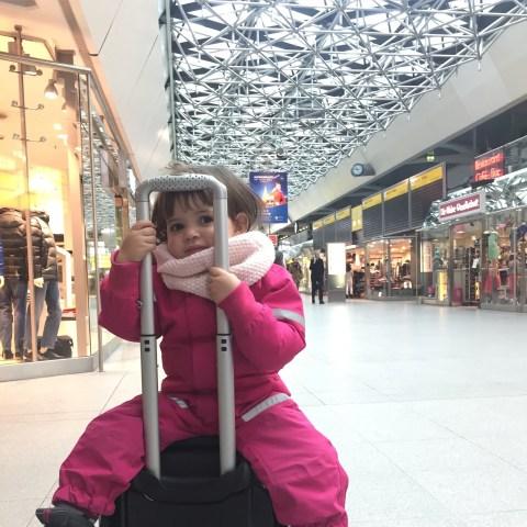 viajar com criança pequena