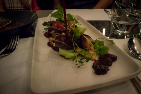 comida asiática em Praga