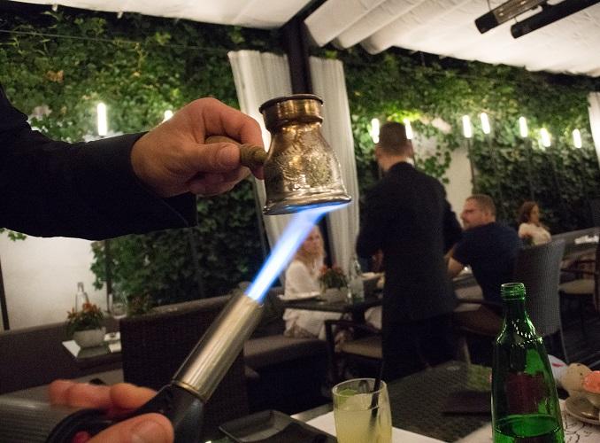 Restaurante em Praga