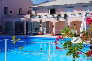 Arenzano och Hotel Punta San Martino