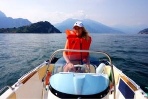 Hyra båt i Como sjön