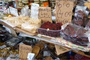 Marknad i San Remo Italien