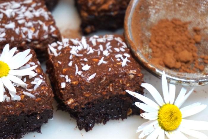 Chokladbollsbrownie