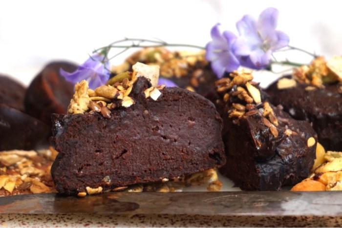 Hälsosamma chokladmuffins