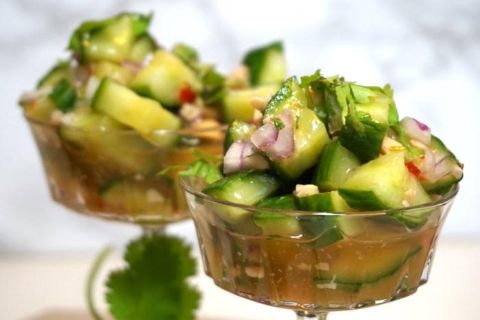 Thai gurksallad