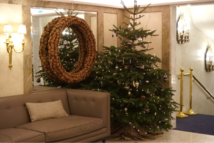 Julbord på Grand Hotel i Stockholm