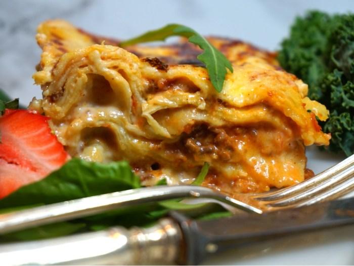 Världens godaste lasagne