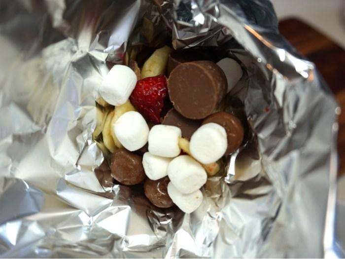 Grillad chokladstrut