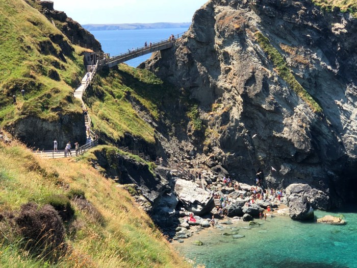 Camelot castle i Tintagel dag 15 & 16- Roadtrip 2018