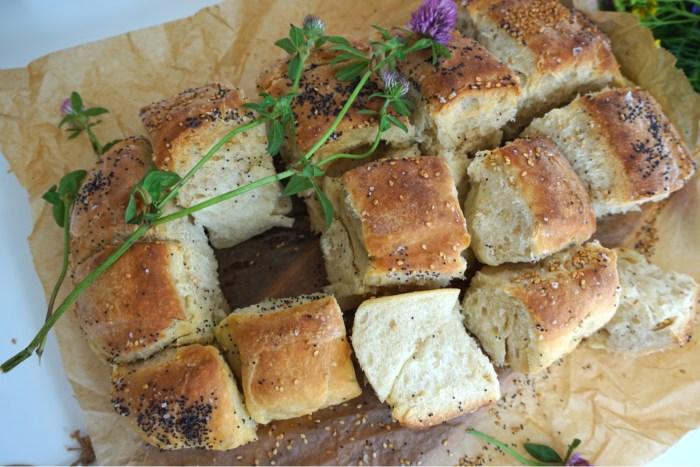 Nattjäst brytbröd med olivolja