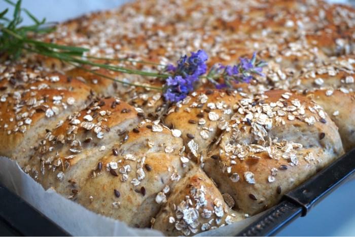 Rågbröd i långpanna