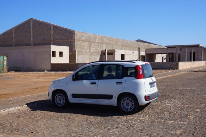 Saltsjön och utflykt med bil på Sal, Kap Verde