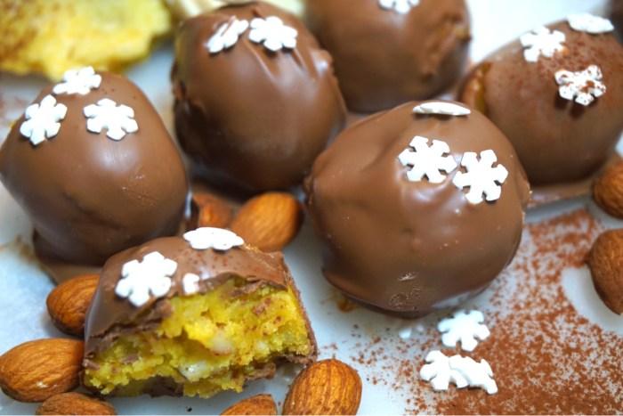 Saffrans cookieballs med mjölkchoklad