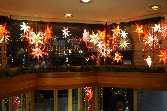 Julbord på Grand Hôtel Stockholm