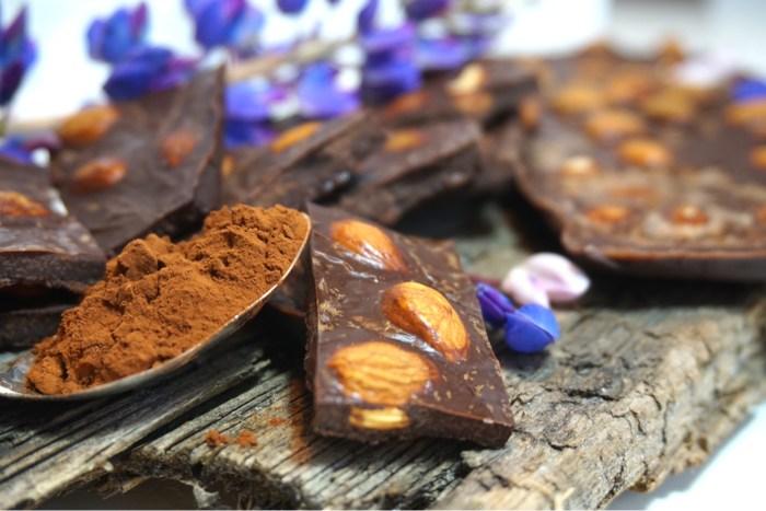 Chokladkakor med kokosolja