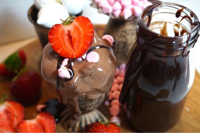 Hemmagjord chokladsås